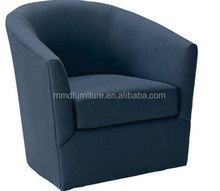 Single seater wood sofa chairs jazz club chair single sitting sofa