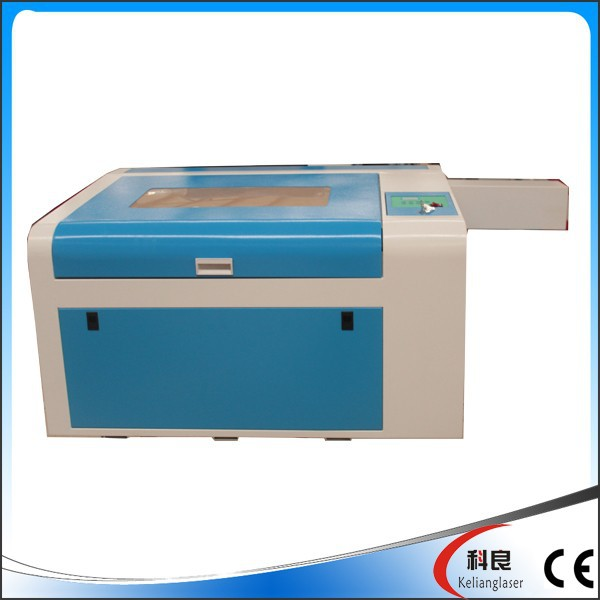 60w mini desktop cnc laser engraving cutting machine for paper, leather, acrylic, wood ect. KL-460 400*600MM