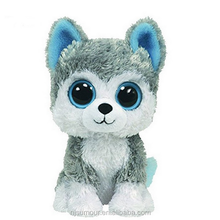 AUTOPS 18cm Beanie Big Eyes Husky Dog and Owl Plush Toy Doll Stuffed Animal Cute Plush Toy Kids Toy Boos
