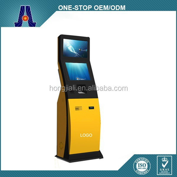 19 inch dual screen betting kiosk terminal with bill acceptor (HJL-3309)