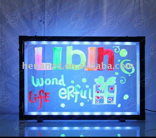 Advertising Led Writing Board Trade Leads
