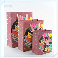 Fashion durable luxury packaging bags PSB034