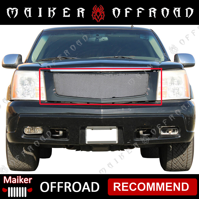 Body kits front grille for Cadillac Escalade 2002-2006 grille for car accessories