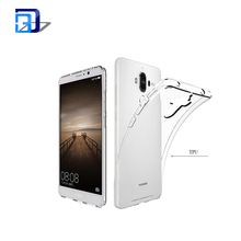 Popular low price products clear transparent ultra thin tpu mobile phone case for huawei mate9
