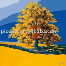 Modern home&hotel decorative TREE oil painting