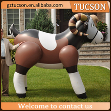 Custom made yard decoration giant inflatable ram/ sheep for sale