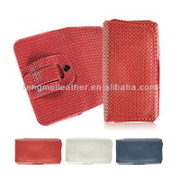 Cell Phone Holster Cases For iPhone 5s, Nylon Leather Flip Belt Loop Clip Pouch Case For iPhone 5S 5C