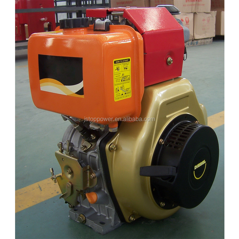 Top Selling new product single cylinder air cooled 4 stroke 178f marine diesel engine with gearboxes