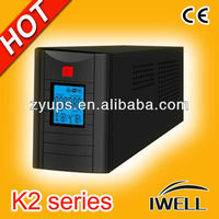 IWELL K2 series big LCD display Line Interactive 650va UPS