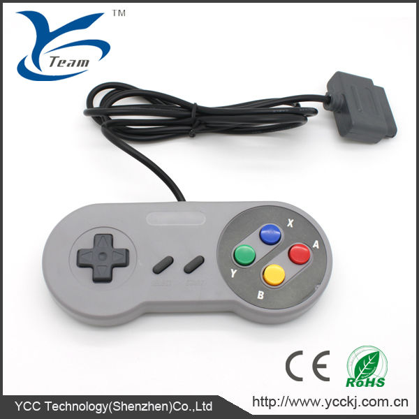High quality video game wired Classic Controller For SNES game joystick for nintendo USB controller
