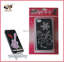 cartoon character cell phone case /jeweled cell phone cases /mobile phone case material plastic