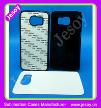 JESOY High Quality Sublimation Protective Case For Samsung Galaxy S6 Blank Case Back Cover