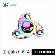 SANKE 2017 Latest Design metal rainbow flying fish hand spinner desk toy stress reduce for adult