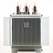 ONAN Low Voltage Oil Immersed Distribution High Frequency Step Down Electrical 33KV Low Voltage 400kva Transformer