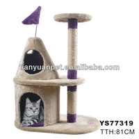 cat tree condo furniture scratching post pet house-YS77319
