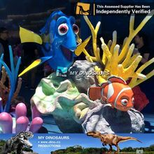 MY Dino-M12-8 Home Decoration Resin Craft Small Animal Figurines