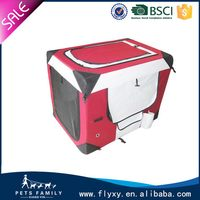 Durable hot selling portable pet soft crate dog cage