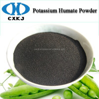 Potassium Humate from Leonardite, 98% High Soluble Super Potassium Shiny Humate, Potassium Humate Powder