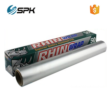 15.24 m x 304 mm household aluminum foil roll wrap manufacturer