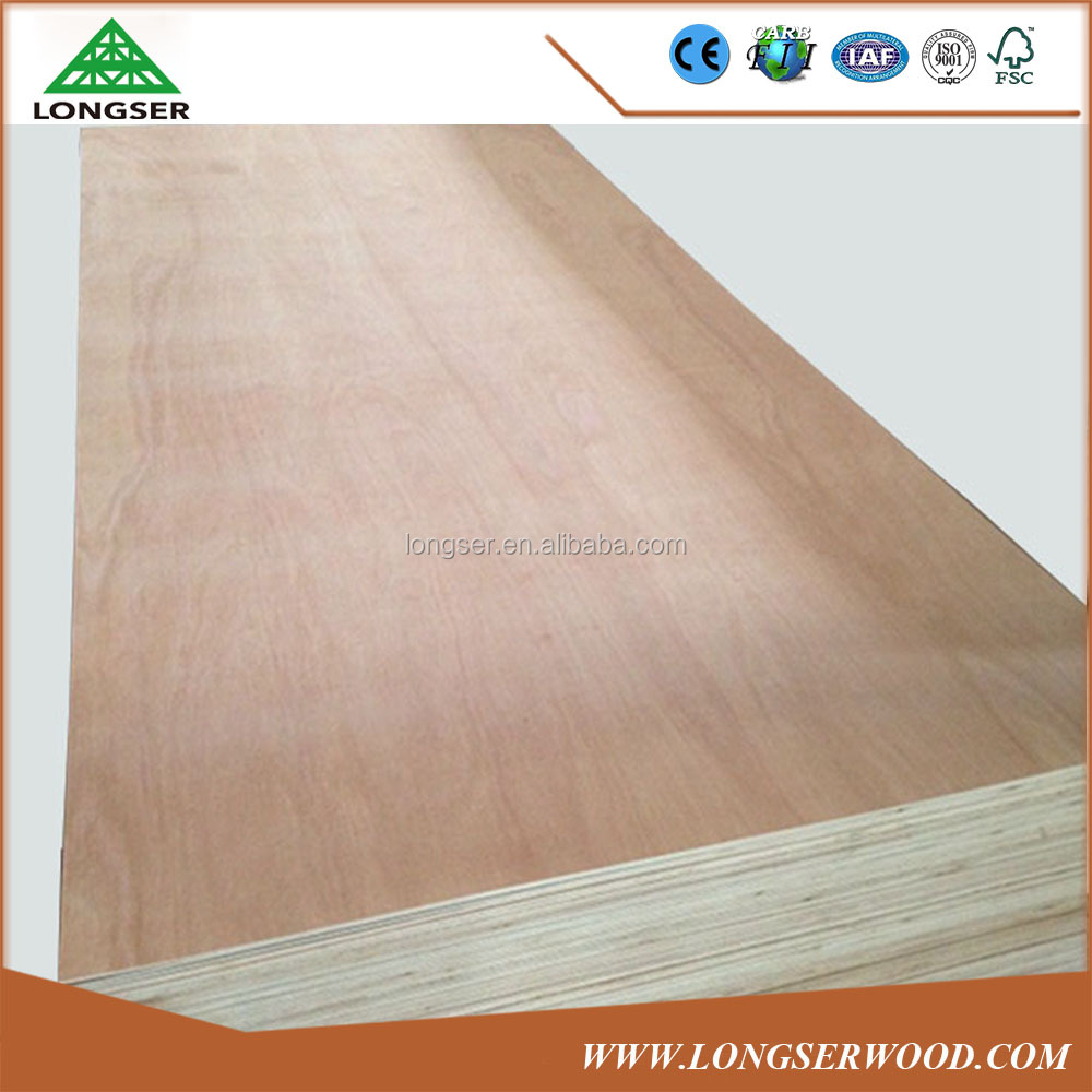 Furniture grade Hardwood core 2.4mm Pencil cedar plywood for Egype