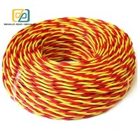 RVS 300/500V 2X1.5mm2 PVC insulated cable electric wire