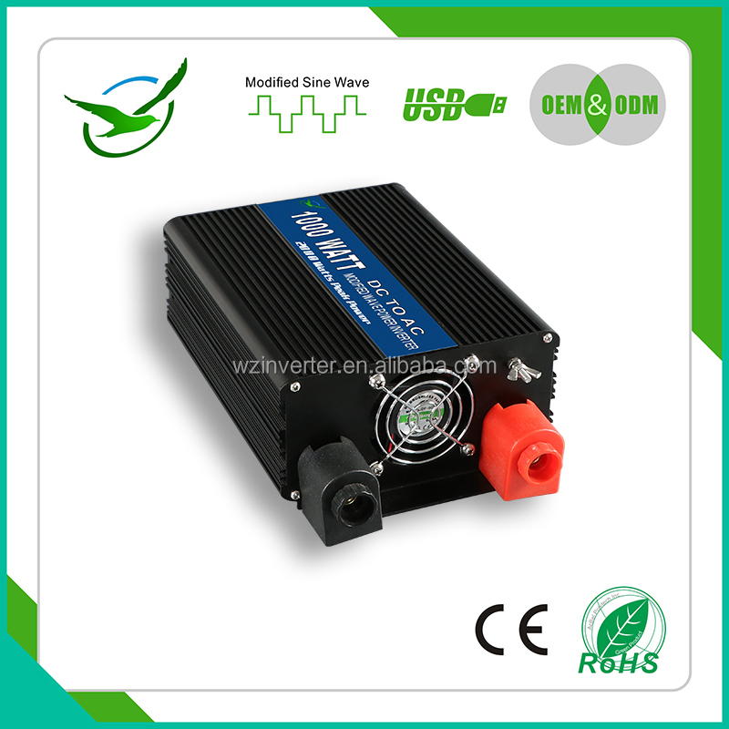 Micro dc ac 220v 12v voltage converter 12 dc to 220 ac 48v 220v 12v 2.0a adapter 1000w solar inverter