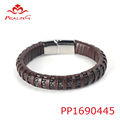 Luxury men bulk custom jordan a bracelet with stainless steel snap