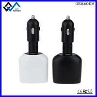 factory direct supply dual usb car charger wholesale smart car usb adapter for iphone