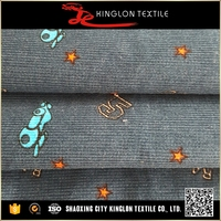 China Wholesale Corduroy 100 Cotton Fabric For T-Shirt