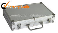 functional silver right angle corner Aluminum tools case