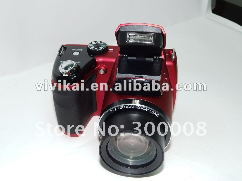 "Vivikai OEM factory high denifition SLR Digital Camera with 21xoptical zoom and 3.0""TFT LCD (HDC-2100)"