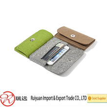 Wholesale hot selling multifunctional Felt Mobile Phone Bags&case&cover