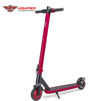 Folding Alloy Frame 250W 24V Lithium Battery Standing Electric Scooter