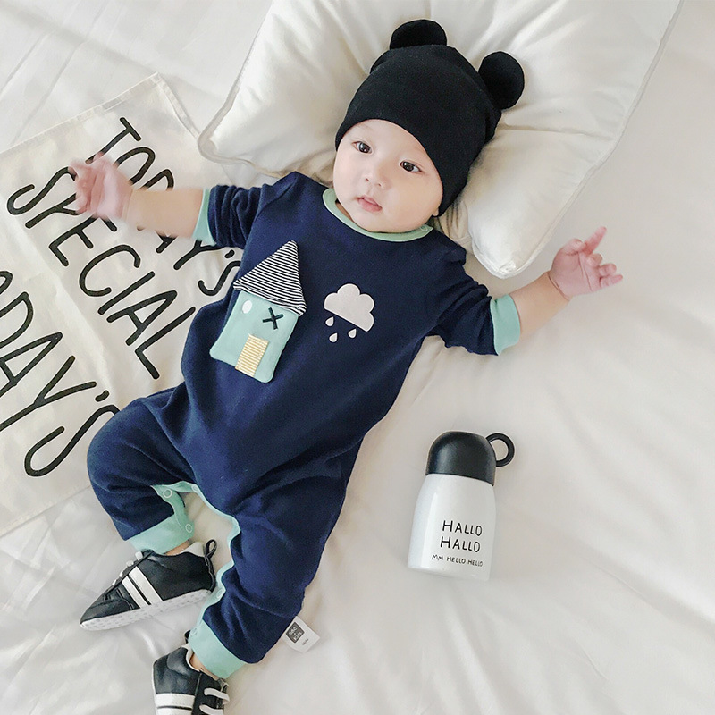 Baby Boy Hooded Autumn Kids Cotton Rompers Buy Direct From China Manufacturer