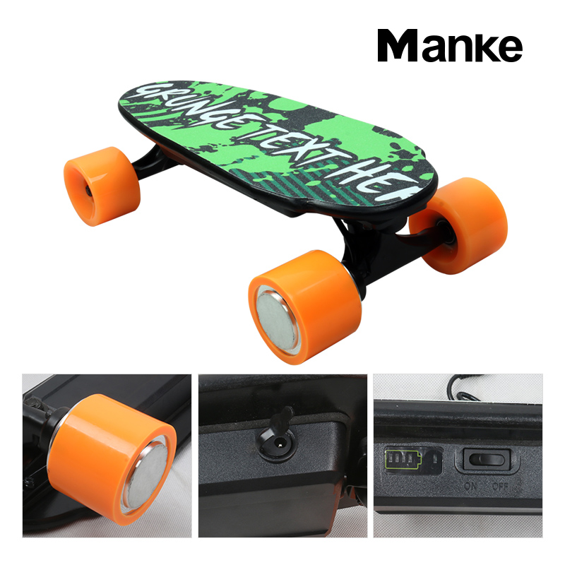 Mini 4 wheels overboard hoverboard electric skate board boosted electric skateboard