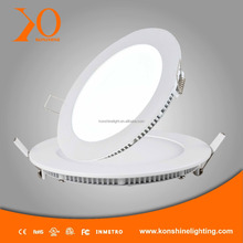 Hot Selling LED Panel Light 6W 12W 18W 24W slim down light, ultra-thin panel lamp