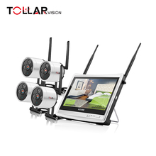 1080P mini home security camera cctv wireless camera with monitor receiver