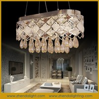 Reasonable price oval shaped crystal chandelier & pendant lights