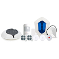 Smart Home Security GSM WIFI GPRS Alarm System Support 100 Wireless WIFI IP Camera