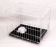 Powder coated metal wire dog kennel dog crate dog cages