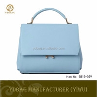 Cosmetic Hand PU Lady Leather Bag Tote Bag