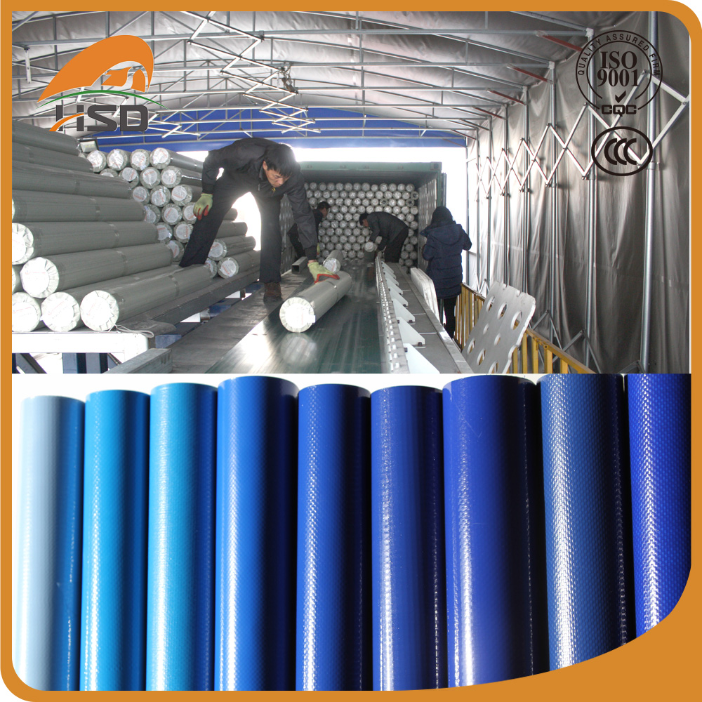 China wholesale market pvc coated polyester breathable tarpaulin