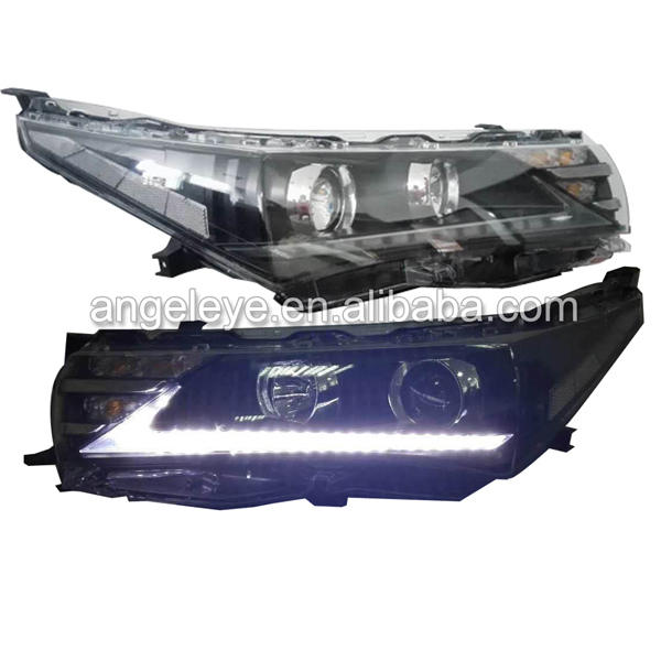 2014 to 2015 Year For TOYOTA Corolla LED Head Light Lexus stlye led front lamp for corolla YZ