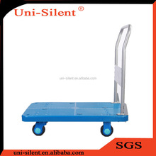 150kg Uni-Silent Moving Plastic Cart with Rubber Wheels PLA150