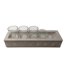 Creative wholesale concrete cement glass cup holder