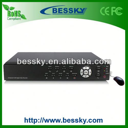 8CH H.264 Compression adata dvr