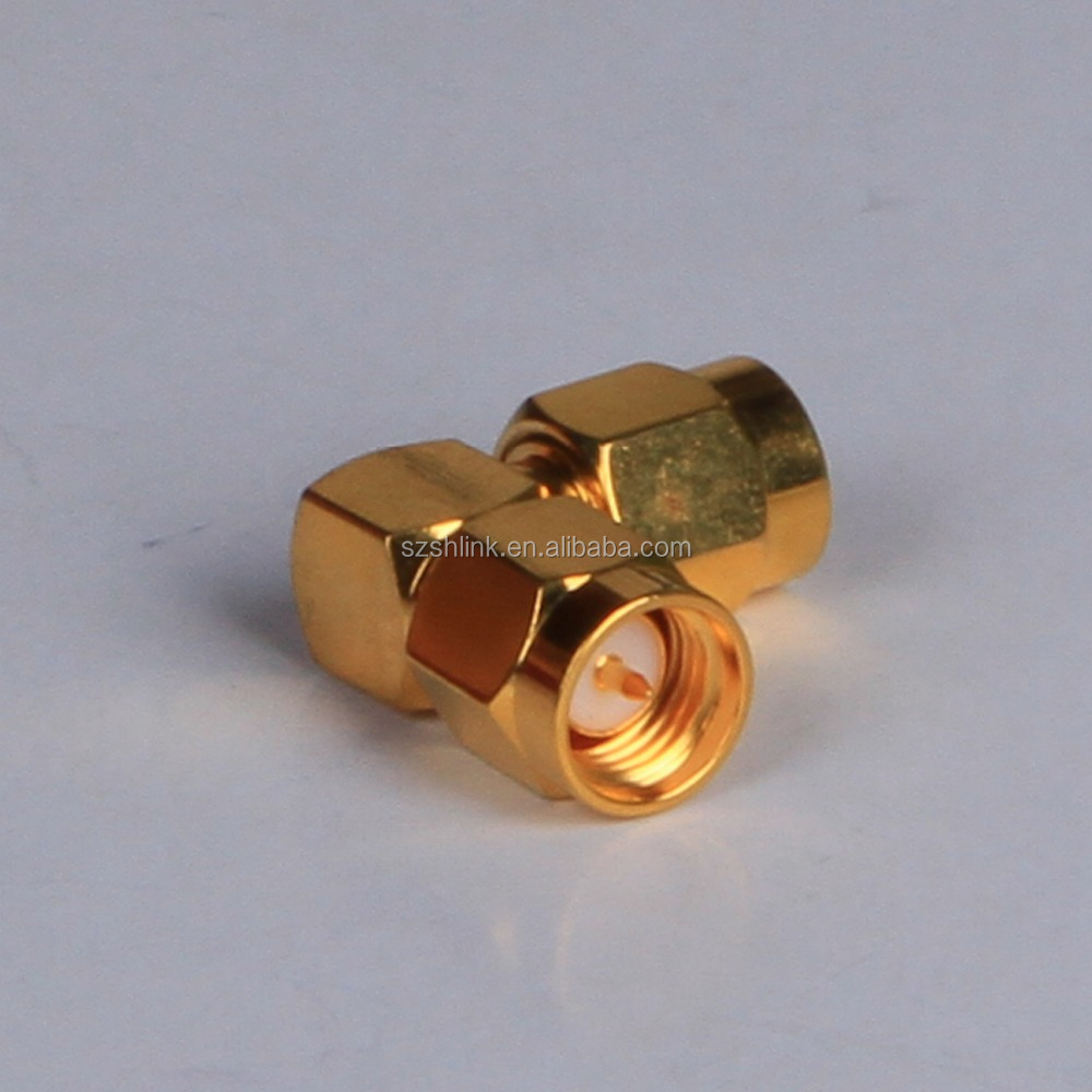 business industrial rf gold plating SMA electrical connector