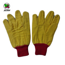 Quality-Assured Customized Design Yellow Cotton Chore Gloves