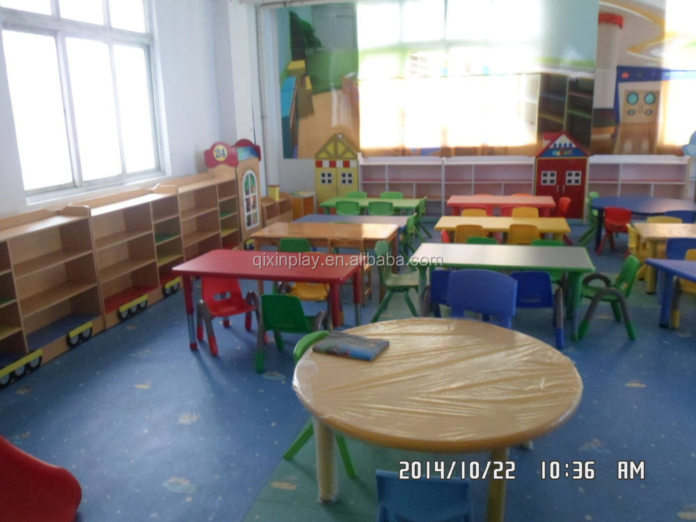 Preschool Furniture Used School Plastic Tables And Chairs