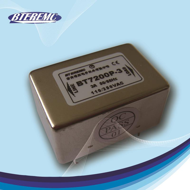Hot selling PCB Mounting emi power line filter with CE RoHS Certification
